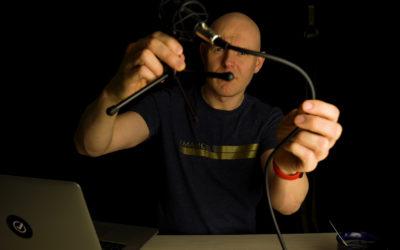 Instrukcja obchodzenia się z mikrofonem podczas nagrania