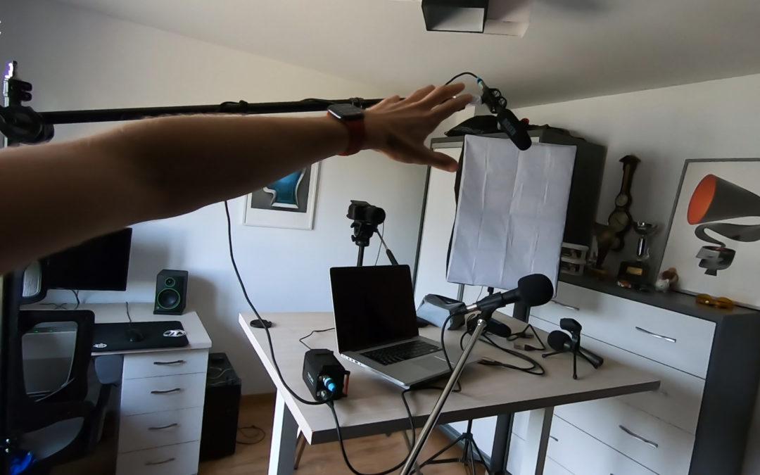 Jak nagrywałem video w domu?